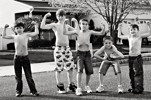 Boys Will Be Boys: Summer fun - boy style
