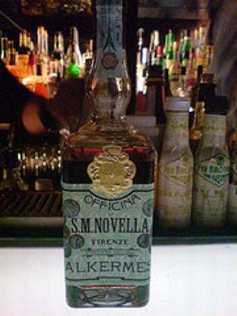 Alkermes from the Farmacia Santa Maria Novella in Florence