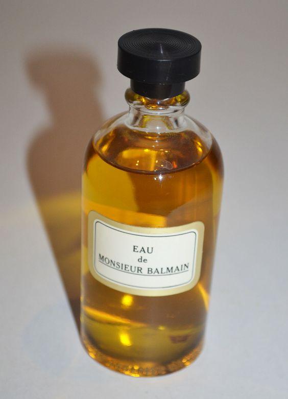 Vintage Monsieur Balmain Eau De Toilette By Balmain