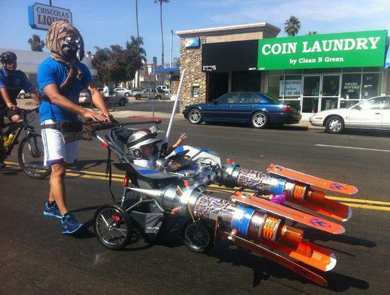 Star Wars Pod Racer Baby Stroller