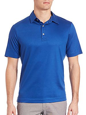 Saks Fifth Avenue Collection Polo Shirt -