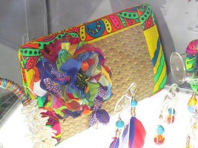 Annie Chajin's clutch - Panamanian designer