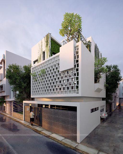 It just a nice concept for a villa in ha noi viet nam d for Concept villa