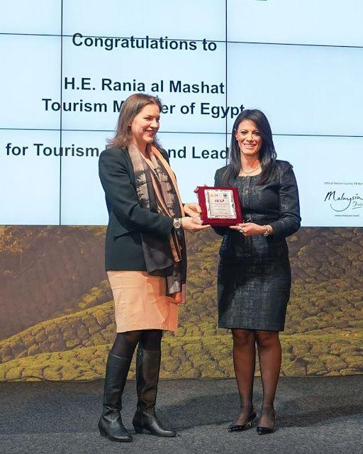 الدكتورة رانيا المشاط تتسلم جائزة من المنظمة الدولية للسلام والسياحة Iipt خلال مشاركتها فى بورصة برلين Tourism Places To Visit Egypt