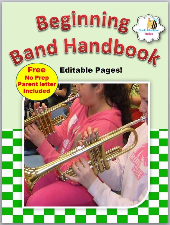 Elementary Band Handbook Band Student Teacher And