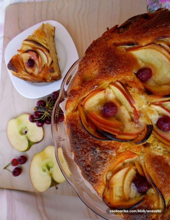 Torta di mele con rose(torta sa ružicama od jabuka) — Coolinarika