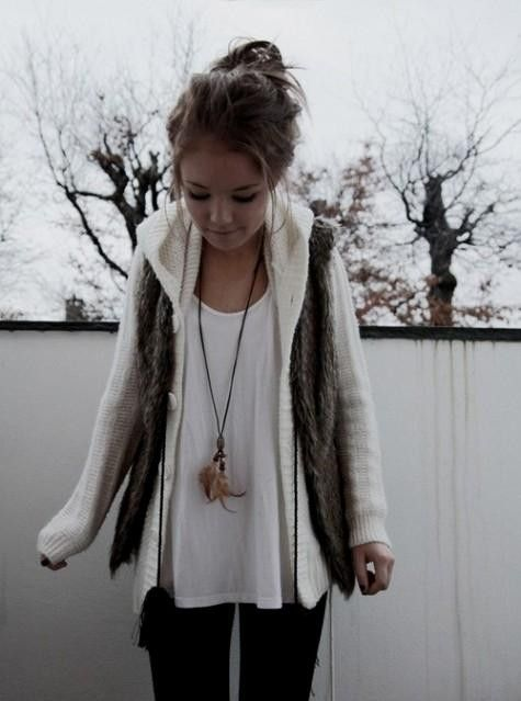 Hipster Girls Fashion Tumblr Winter 2015 2016 Myfashiony