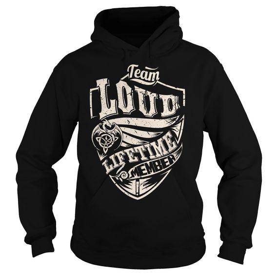 (Tshirt Sale) Team LOUD Lifetime Member Dragon Last Name Surname T-Shirt [Teeshirt 2016] Hoodies, Tee Shirts