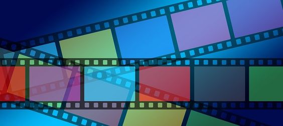 Video, Film, Filmstrip, Colorful
