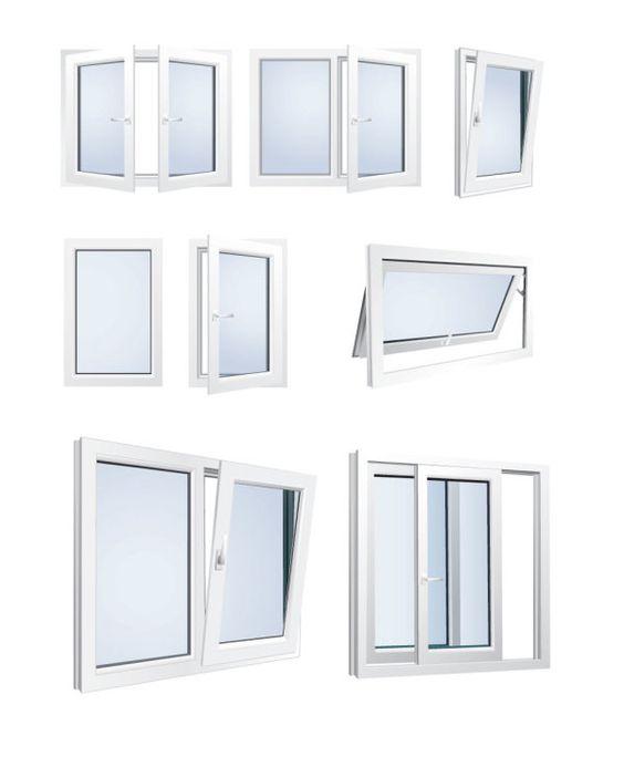 Ventanas de Aluminio vectorizadas | Puerto Pixel | Recursos de Diseño