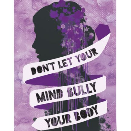 Don't let your mind bully your soul. #loveyourself #empoderamento #femme #feminista