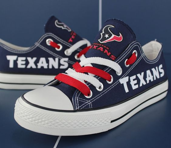 Houston Texans shoes Texans sneakers Texans tennis by Uteehavy