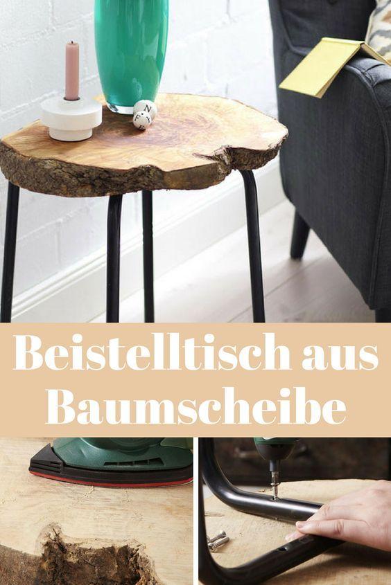 Baumstamm Couchtisch Baumscheibe Tisch Vintage Bei Mobelhaus