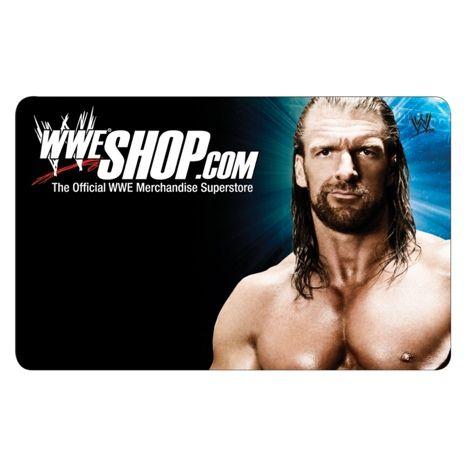 WWE Shop Triple H Gift Card - WWE   cool   Pinterest   Shops, Gift ...