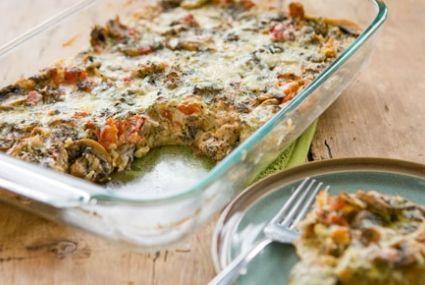 Mushroom, Tomato and Gruyere Breakfast Casserole | Whole Foods Market