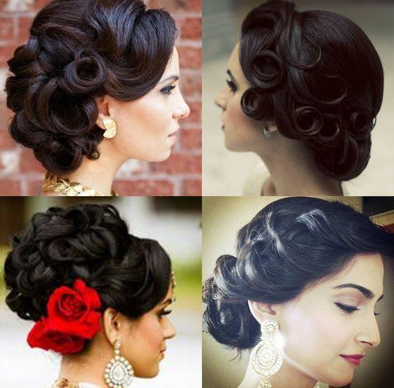 30 Latest Indian Bridal Wedding Hairstyles Images 2019 2020 Indian Bridal Hairstyles Indian Wedding Hairstyles Bridal Hairdo