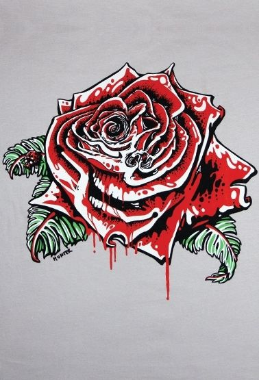 Products > Skull Rose
