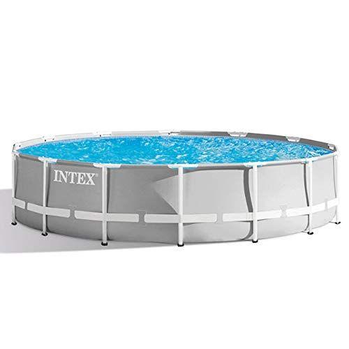 Intex Piscine Tubulaire Intex Ronde 366 X 122 M Intex Piscine Tubulaire Echelle Deco Decoration Centre De Table