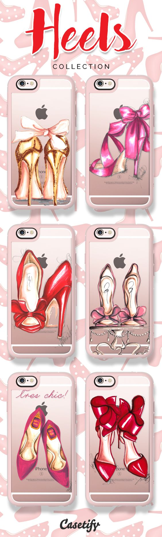 Hit the floor with these heels! Shop link here: chttps://www.casetify.com/artworks/f5nPDCWnsA | @casetify