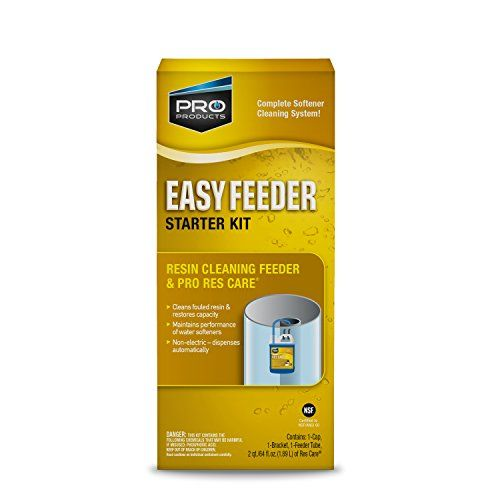 Rescare Rk11k Easy Feeder Starter Kit Non Electric System Extends Life Of Water Water Softener Water Softener Starter Kit Herb Garden In Kitchen