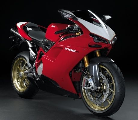 Ducati 1098 R : le twin sportif le plus lger et le plus puissant  #moto