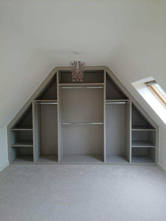 34 Best Examples Of Attic Closet Design Ideas Closet Designs Attic Closet Closet Design