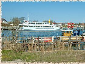 Hafen Breege - Breege liegt zwischen den Halbinseln Wittow und Jasmund