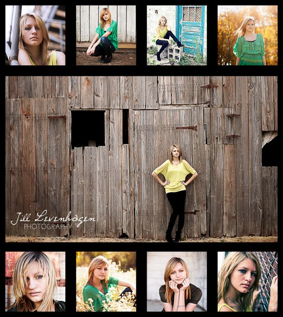 Lightroom templates and collage on pinterest for Senior photo collage templates