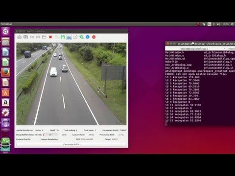 OpenCV 3 Car Counting C++ full source code - YouTube