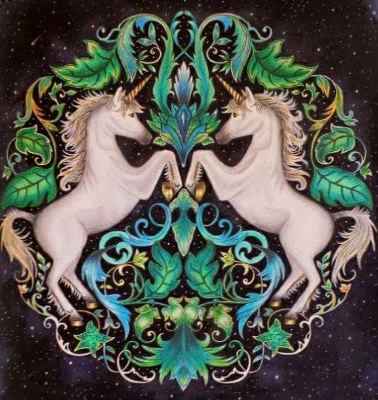 Unicorns and Forests on Pinterest