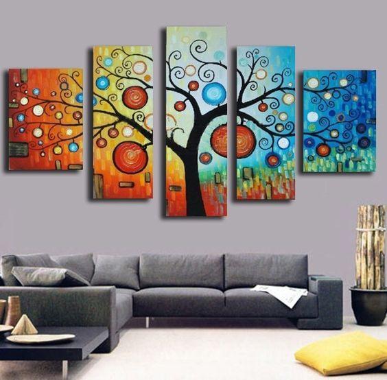 Oleo precioso disfruta del magn fico cuadro con alta - Precio pintura pared ...