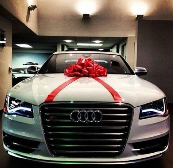 Audi Ribbon Gift Fiocco Regalo Christmas Natale