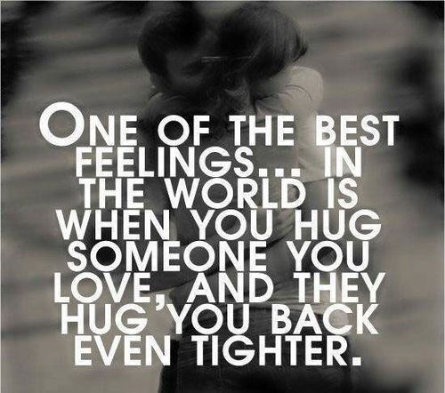 Best Hug, So True And Love Quotes On Pinterest