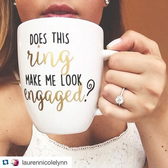 ・・・ Every love story is beautiful but ours is my favorite. Forever. Time to plan a wedding!!!  #offthemarket #engaged #engagementring