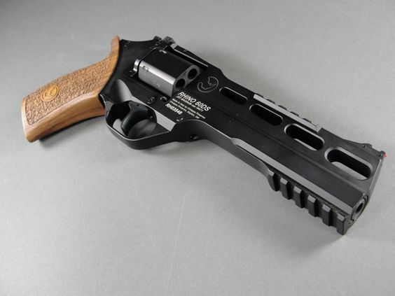 The Italian designed Chiappa Rhino 60ds. One of the finer things in life...that makes others ...