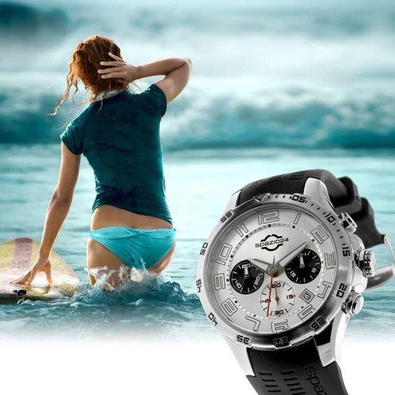 wodoodporny zegarek