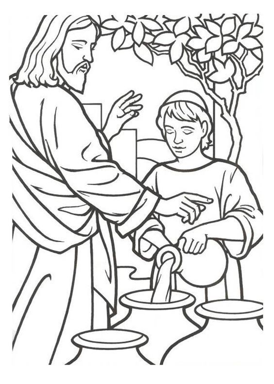 Download Or Print This Amazing Coloring Page Miracles Of Jesus Jesus And Coloring Page Jesus Coloring Pages Bible Coloring Pages Sunday School Coloring Pages