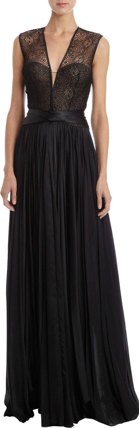 A long black dress 6 months