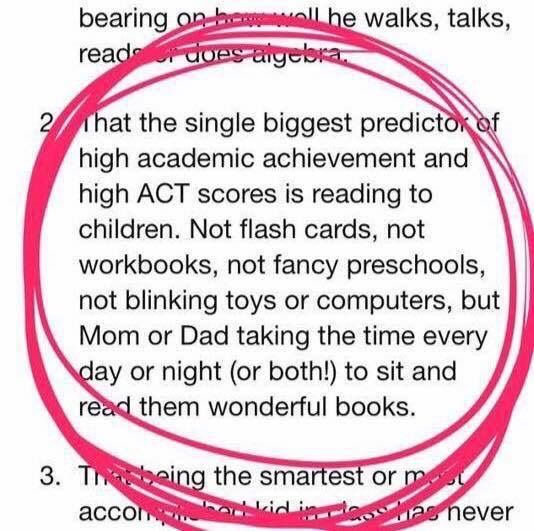 The single biggest predictor of High Academic Achievement ... | Parenting  education, Dear parents, Work from home moms