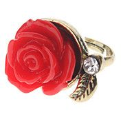 Vintage Style Red Rose Ring – AUD $ 0.84