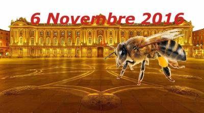 affiche Première Foire au Miel de Toulouse