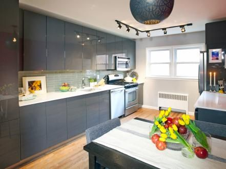 Tall+modern+kitchen+cabinets