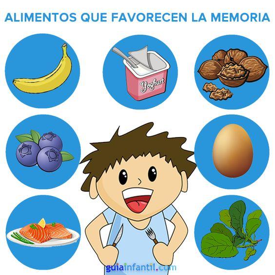 Los alimentos que favorecen la memoria, ¿los tomas a