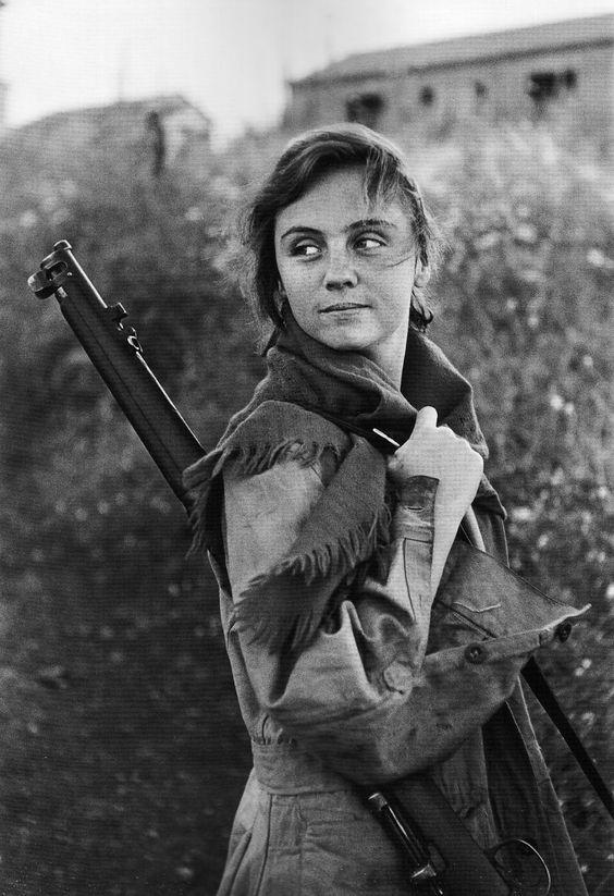 Guerra Civil Espanhola Foto de Guerda Taro. Robert Capa