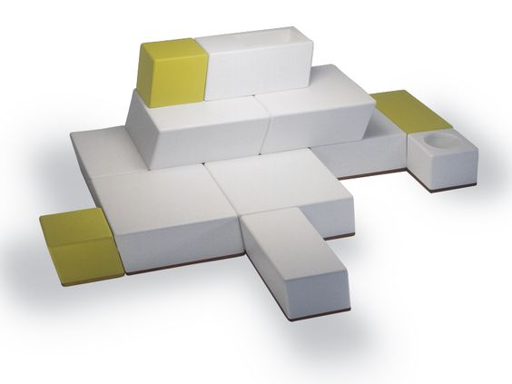 Modular foam garden sofa Univers Collection by FISCHER MÖBEL ...