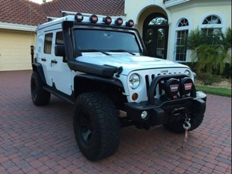 2013 Jeep Wrangler Unlimited Rubicon Extreme Camper for sale by www.autohausfl.com - asking More than US$100K