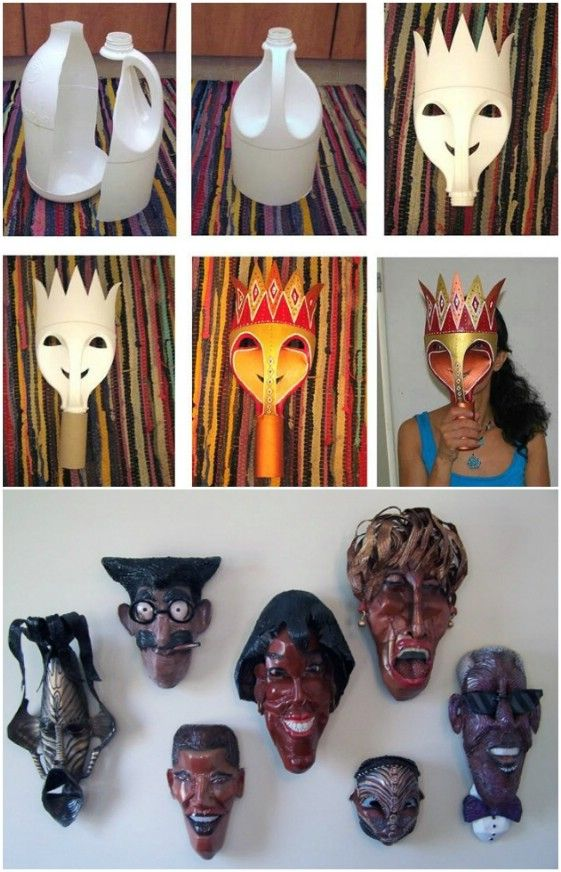 20 Easy And Creative Diy Halloween Masks For Kids And Adults