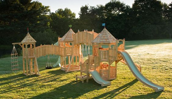Wow, Cedarworks makes dreamlike play sets for children...so fun!