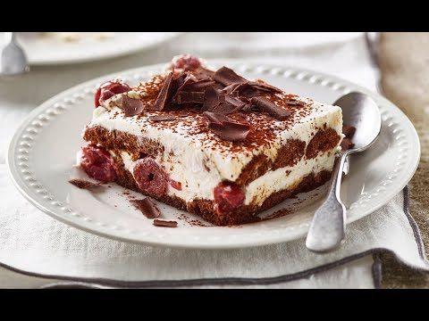 Schwarzwalder Tiramisu Dessertrezept Von Betty Bossi Youtube