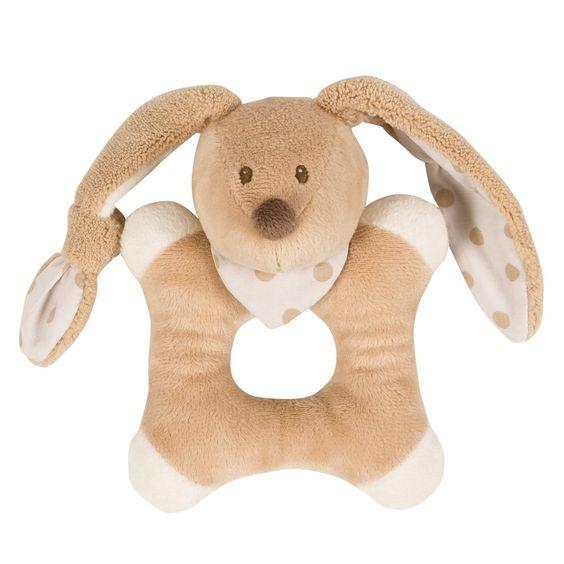 Ringrattle bunny - #baby #bebe #doudou #knuffel #knuffelbeer #cuddlytoy #kuscheltier #nattou #papa #mama #mom #dad #father #mother #parents #maman #grossesse #zwanger #pregnant #pregnancy #zwangerschap #enceinte #cuddly #peluche #plush #Plusch #schwanger #geboorte #geburt #birth #naissance #vater #eltern #mutter #ragdoll #cuddly #toy #cadeau #gift #geschenk #konijn #rabbit #lapin #Kaninchen #bunny #beige #wit #white #blanc #weiss